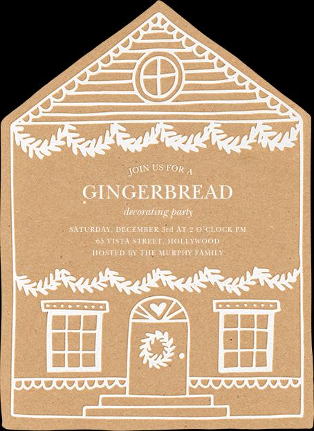 Gingerbread Homestead - Sugar Paper - Sugar Paper