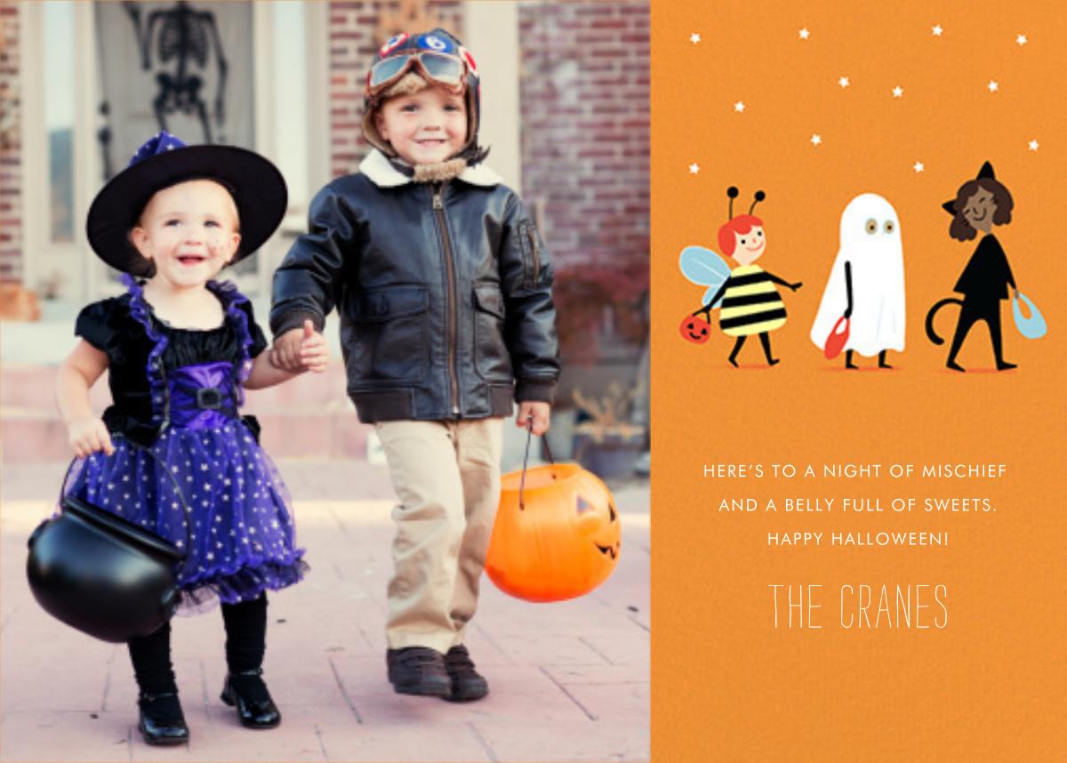 Costume Parade (Photo) - Paperless Post - Halloween