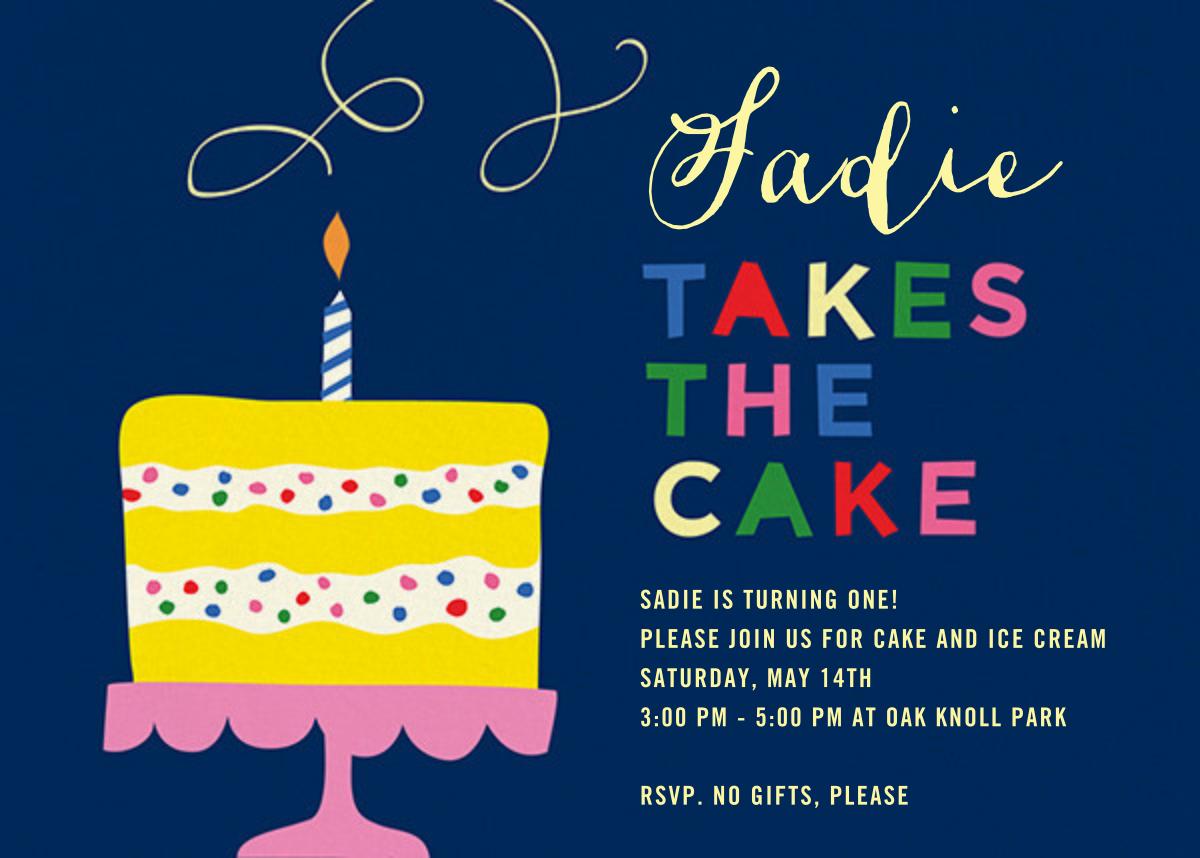 Take the Cake - Cheree Berry - Kids' birthday