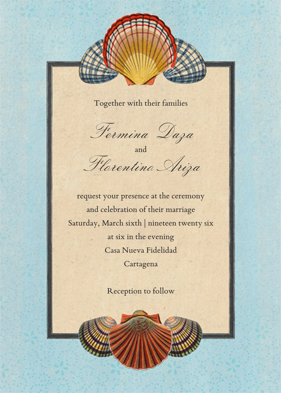 Scallop Medallion (Invitation) - John Derian - All