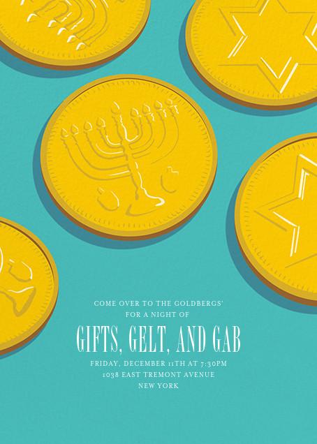 Going for Gelt - Paperless Post - Hanukkah