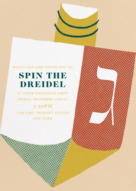 Take a Spin - Paperless Post - Hanukkah