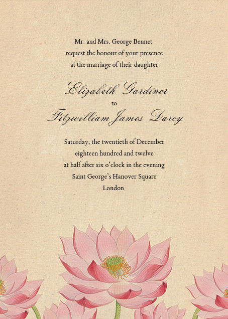 Water Lily (Invitation) - John Derian - All