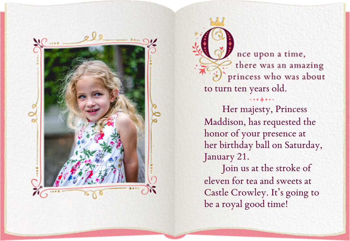 Fairy Tale Fete - White - Cheree Berry Paper & Design - Kids' birthday