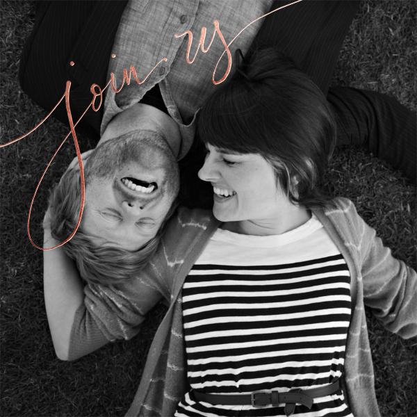 Join Us (Photo) - Rose Gold - Linda and Harriett - Photo