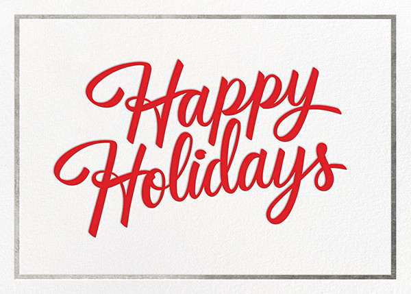 Signature Holiday - Silver - Paperless Post - Use your own logo