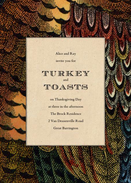 Pheasant Plumage - John Derian - Autumn entertaining