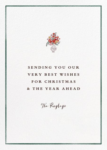 Holiday Hall - Paperless Post - Christmas - card back