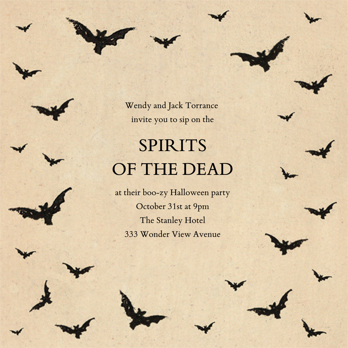 Bat Swarm - John Derian