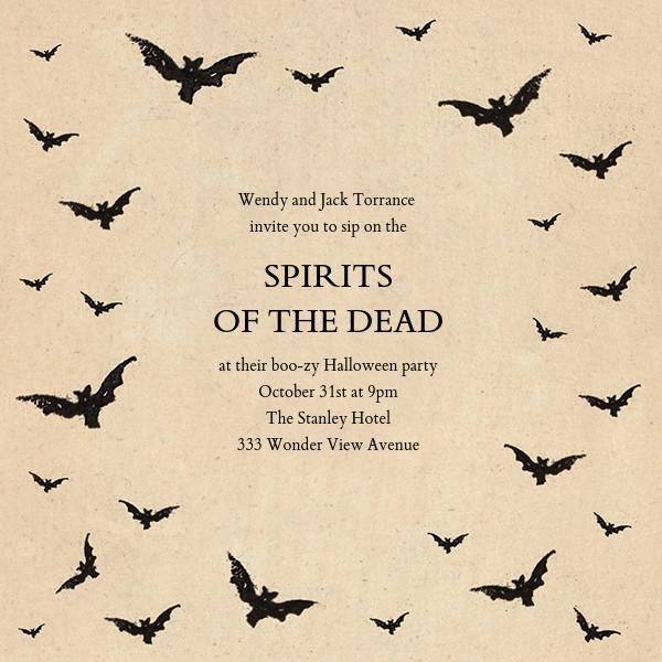 Bat Swarm - John Derian - Halloween