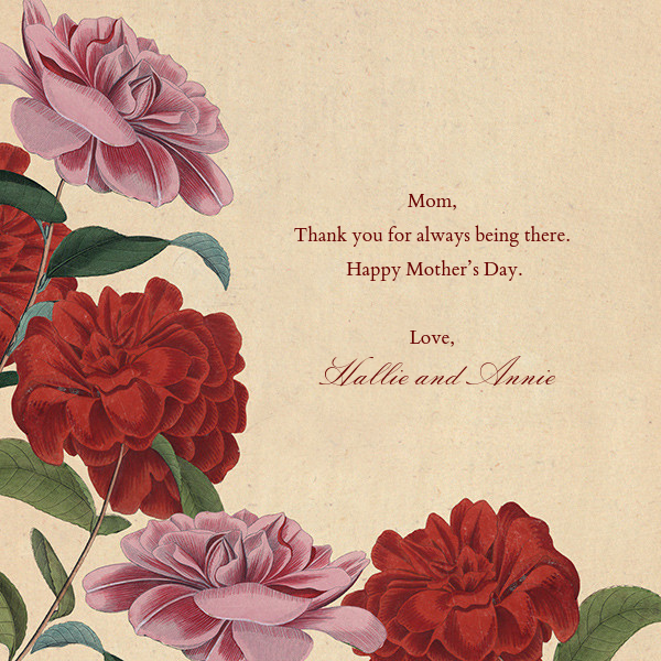 Double Rose - John Derian - Mother's Day