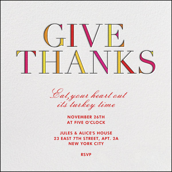 Give Thanks - kate spade new york - null