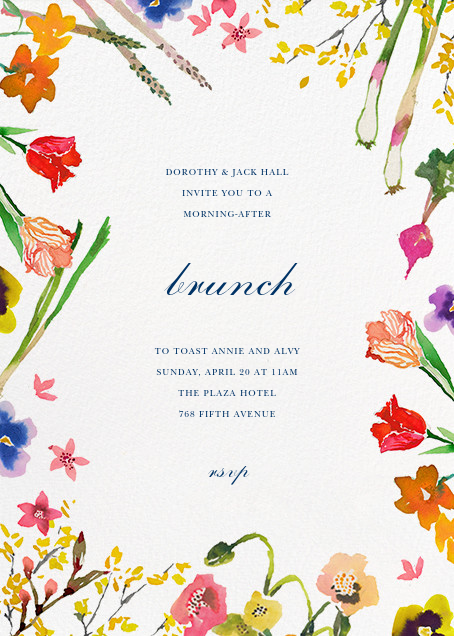 Spring Market - Happy Menocal - Brunch