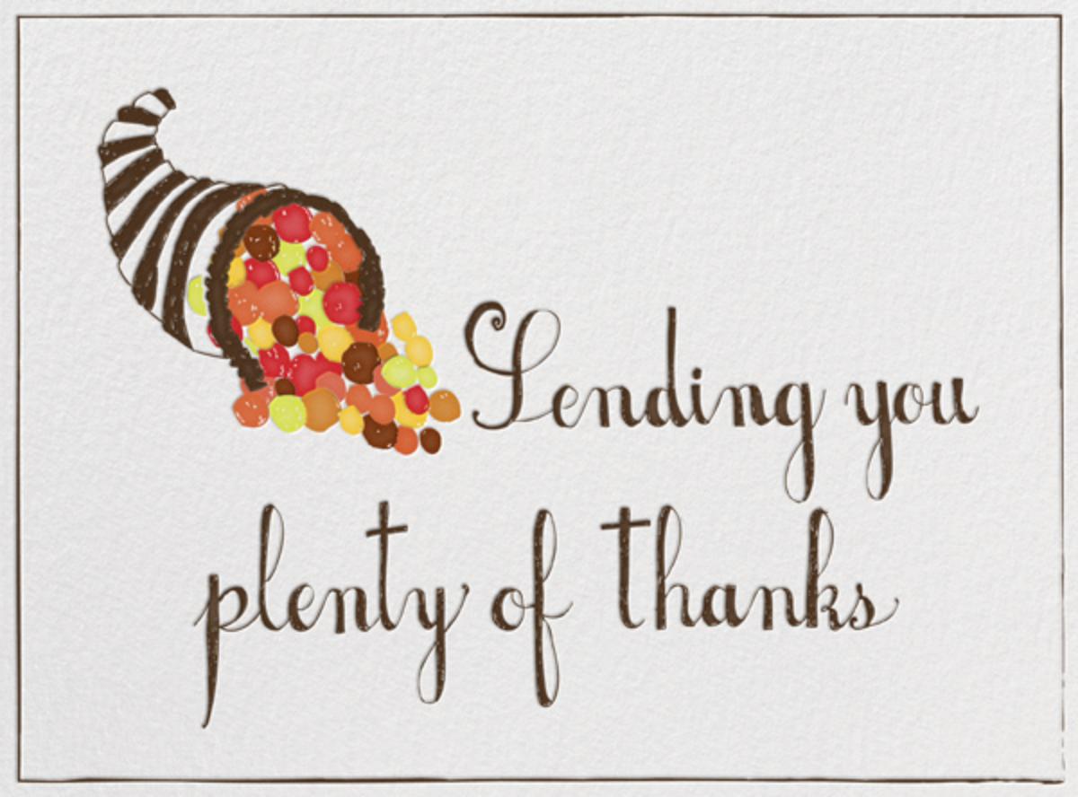 I Love You Plenty - Mr. Boddington's Studio - Thanksgiving