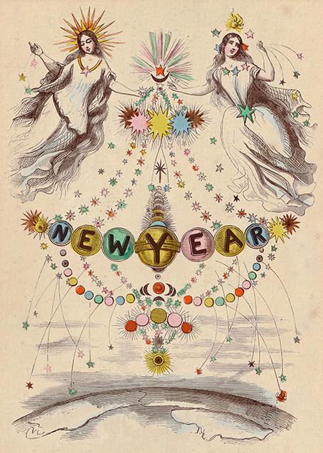 Angel Newyear - John Derian - New Year's Eve