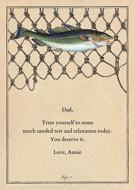 Cod Fish Net - John Derian - Father's Day