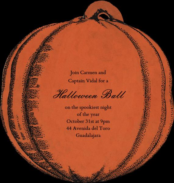 Jack-o'-Lantern - John Derian - Halloween - card back