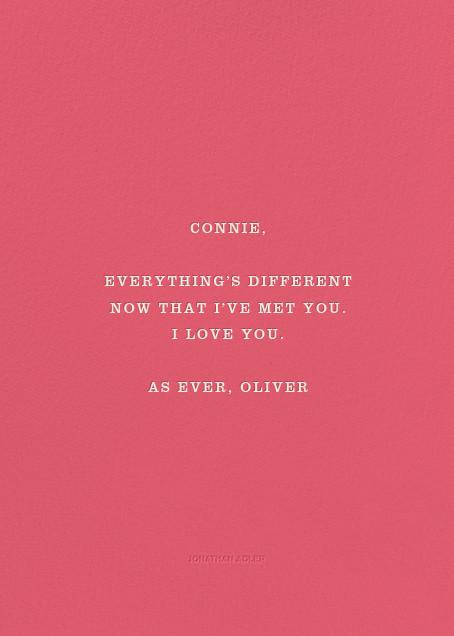 Language of Love - Jonathan Adler - Love and romance - card back