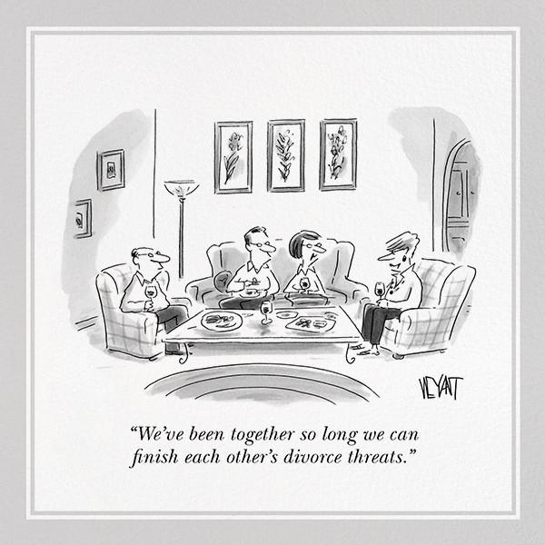 Divorce Threats - The New Yorker - Anniversary
