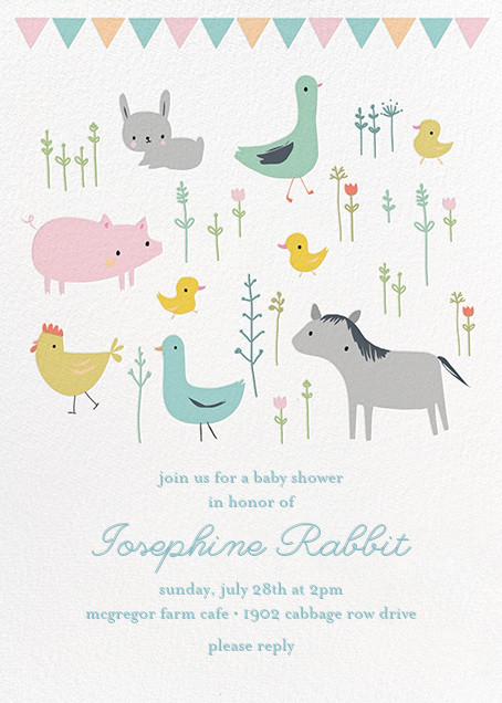 Farmyard Family - Little Cube - Baby shower