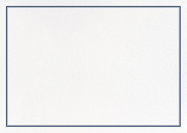 Mayfair - Dark Blue - Paperless Post - Notecards