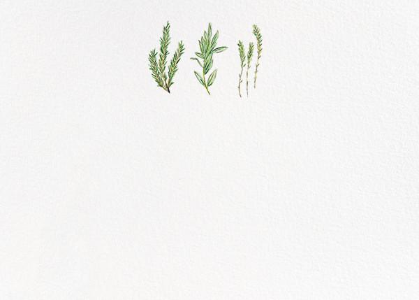 Herbarium (Stationery) - Paperless Post - Notecards