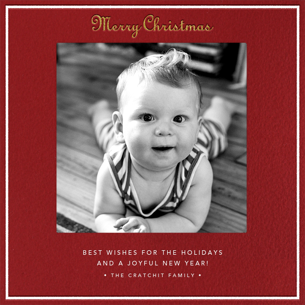 Merry Christmas - Cardinal - Paperless Post - null