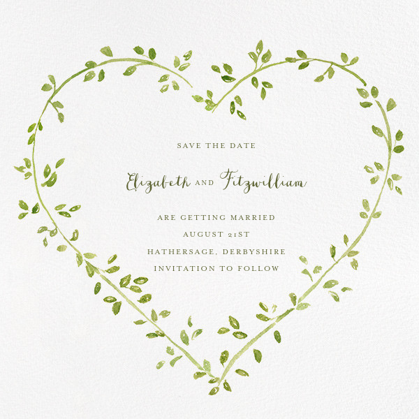 Dahlias (Save the Date) - Paperless Post - Save the date