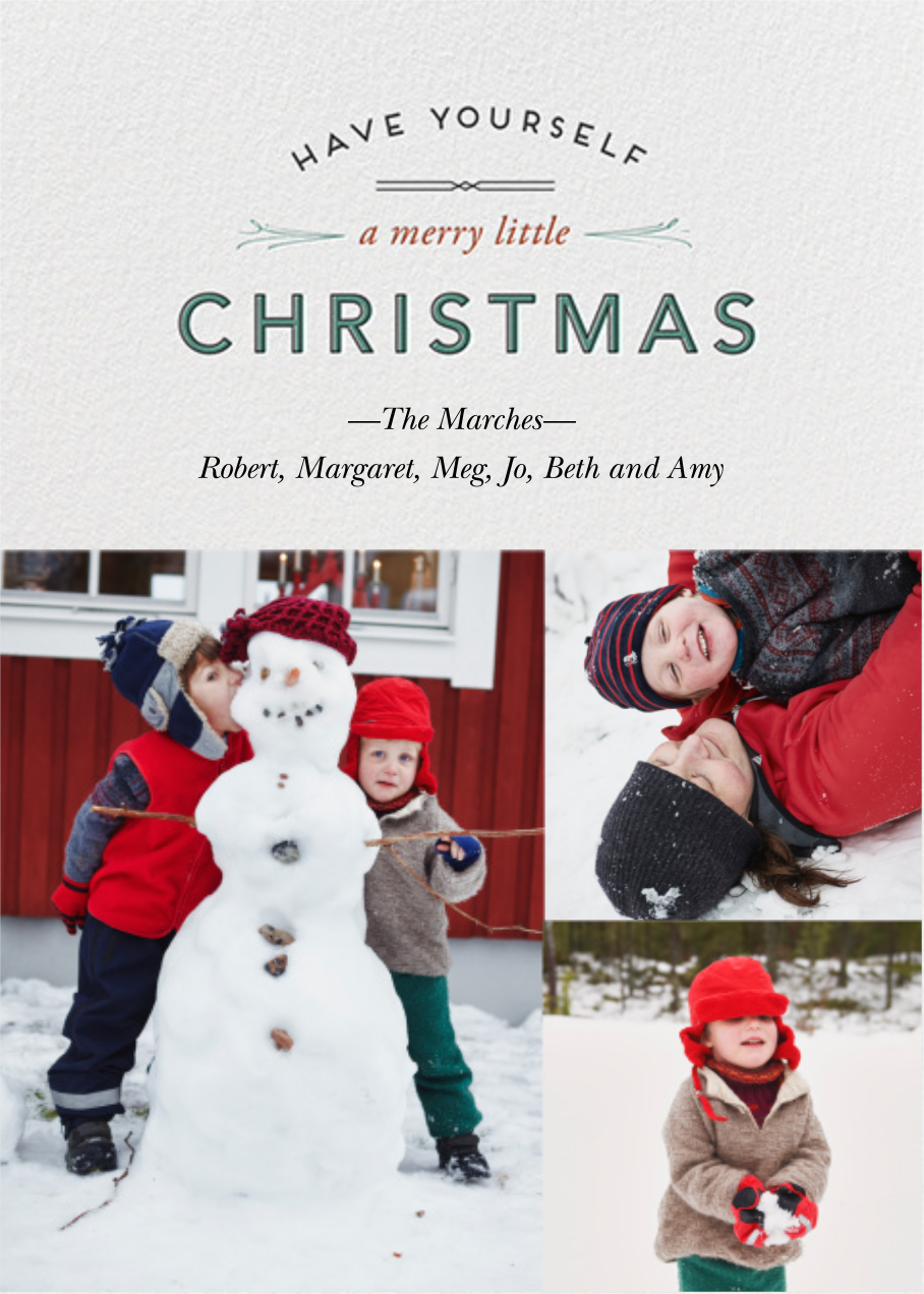 Wintry Tune - Christmas - Paperless Post