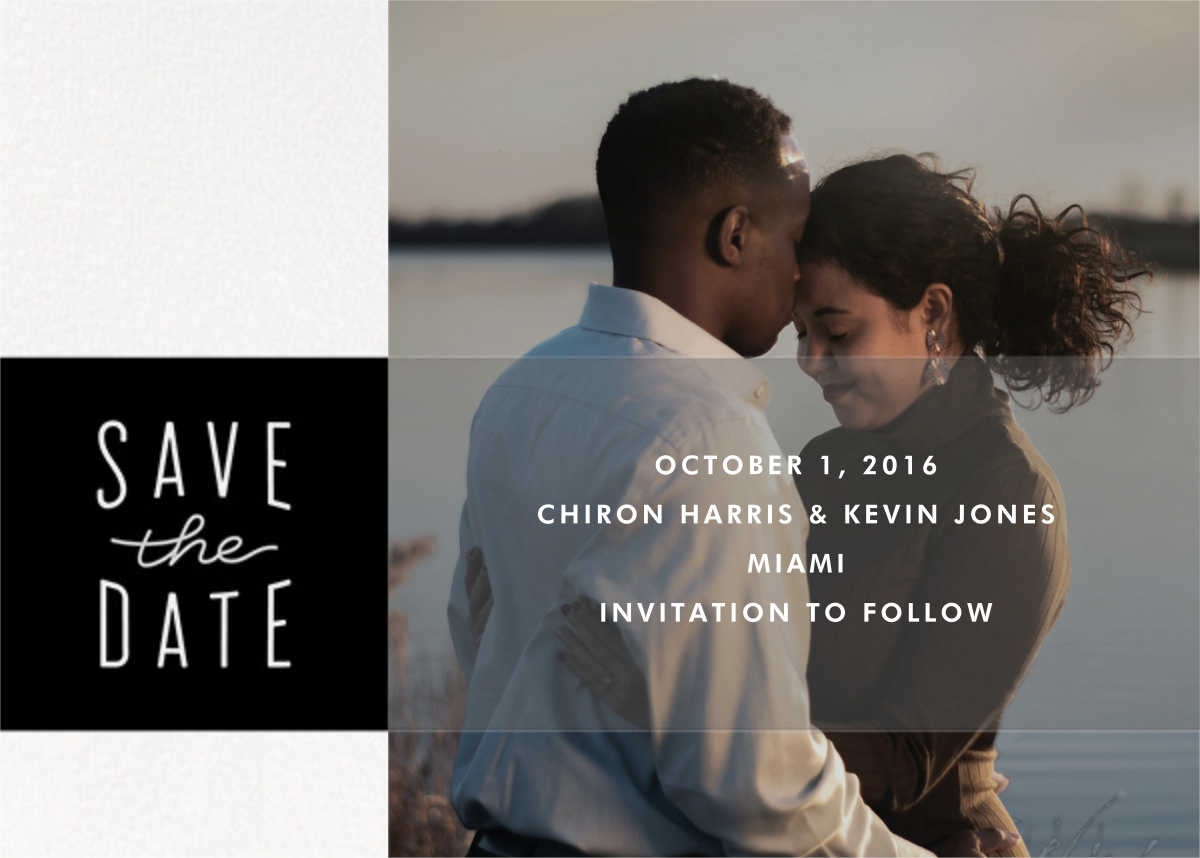 Composition - Paperless Post - Save the date