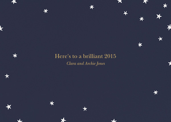 Nightly (New Years) - Gold/White - Paperless Post - New Year - card back