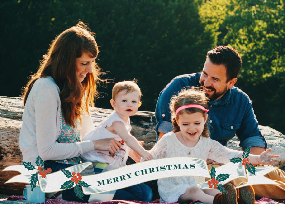 Ribbon of Christmas Joy - Paperless Post - Christmas