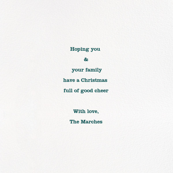Family Outing (Square) - Paperless Post - Holiday cards - card back