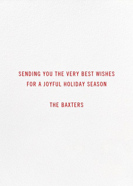 Beacon of Cheer - Red - Paperless Post - Back