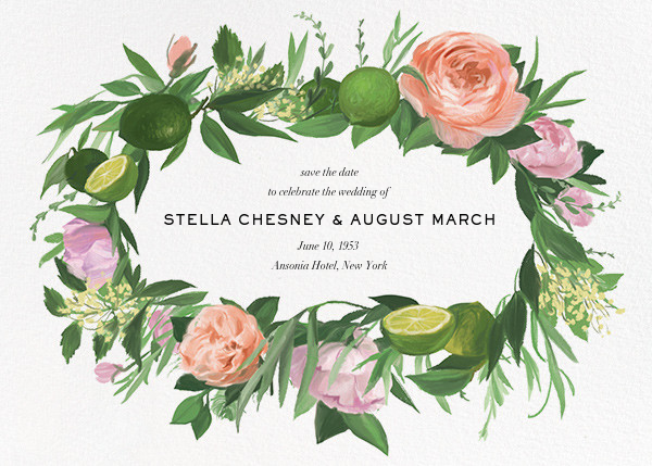 Gramercy Garden (Save the Date) - Paperless Post - Save the date