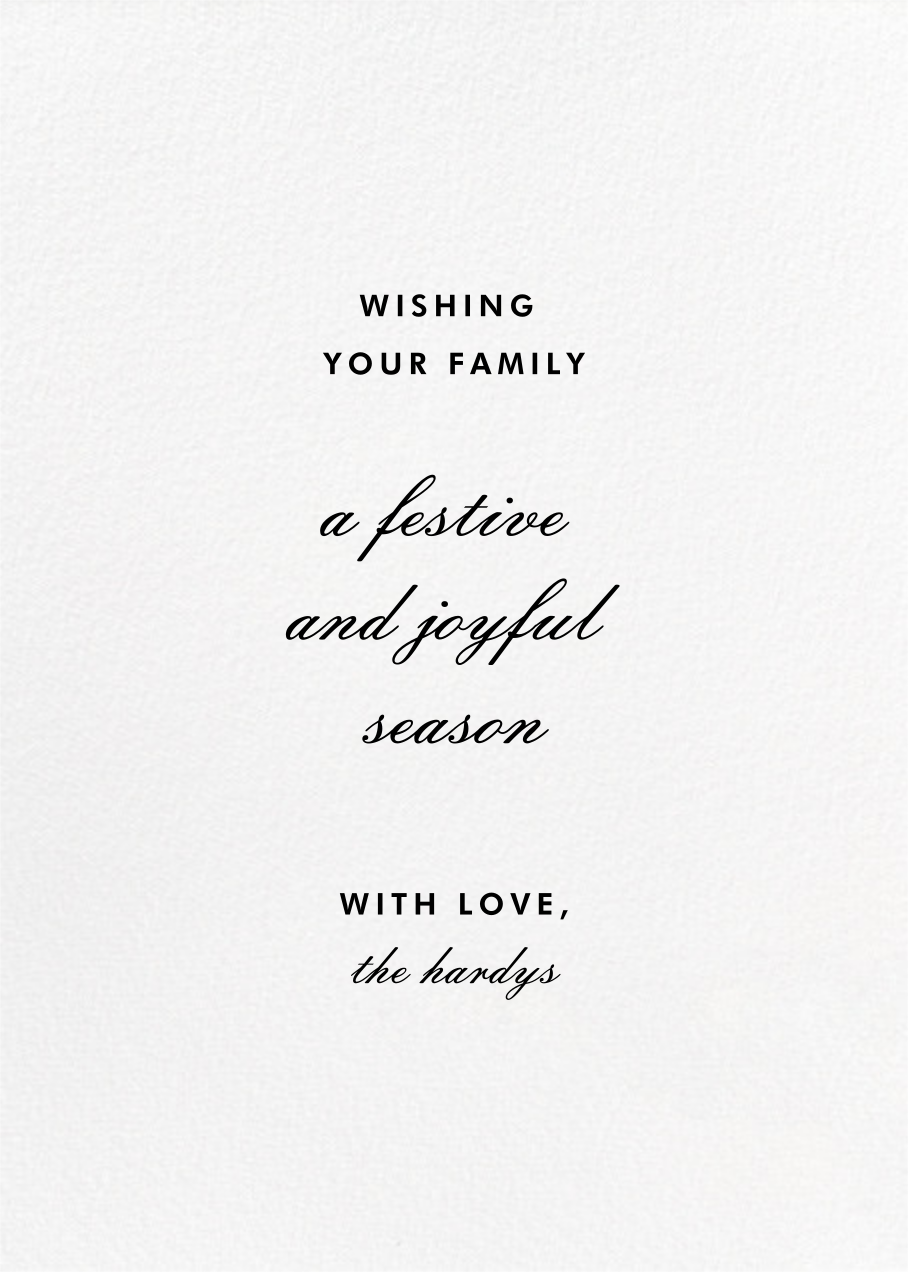 Merry and Married - Red - Paperless Post - Back