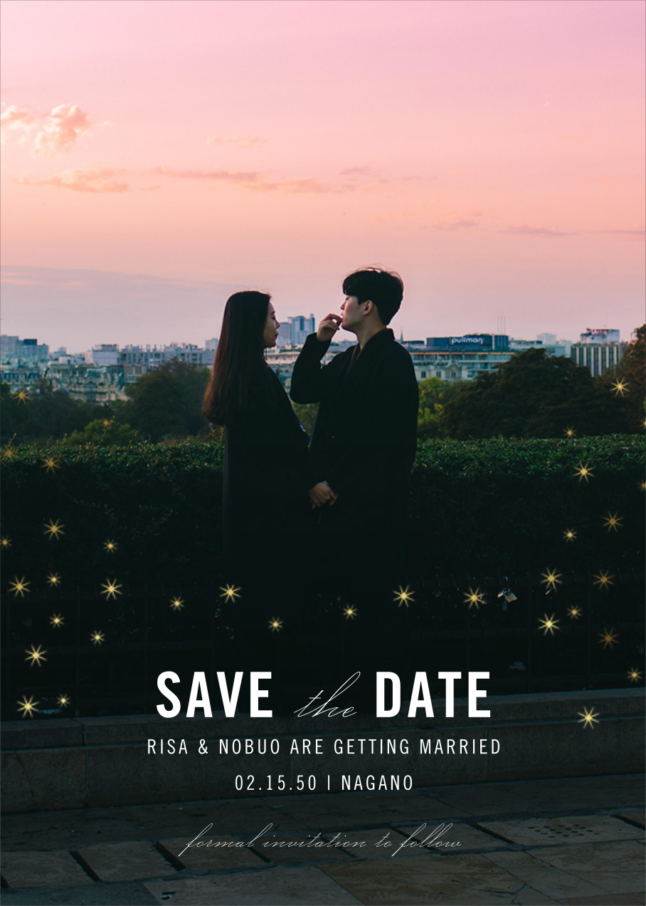 Celeste (Photo Save the Date) - Paperless Post - Save the date