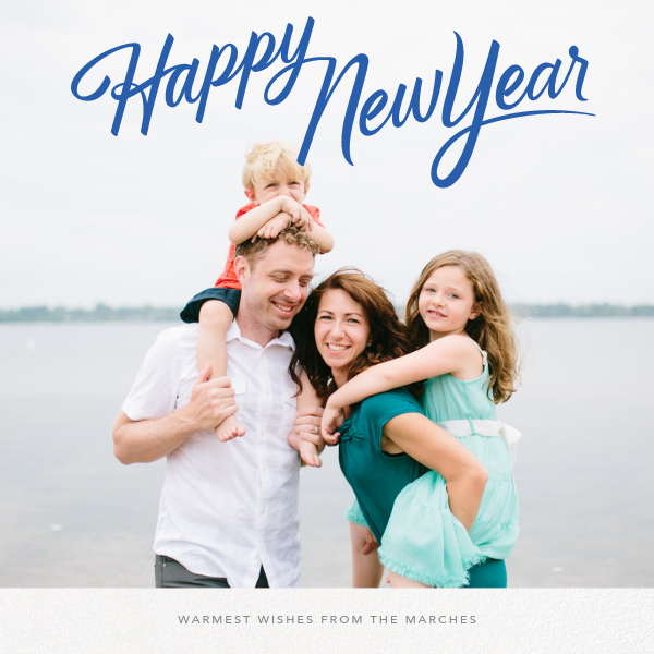 New Year Classic (Square) - Paperless Post - New Year
