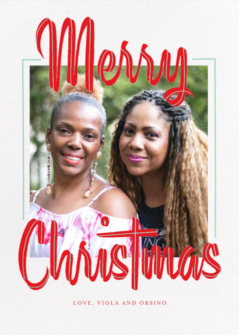 Retro Christmas (Tall) - Paperless Post - Christmas