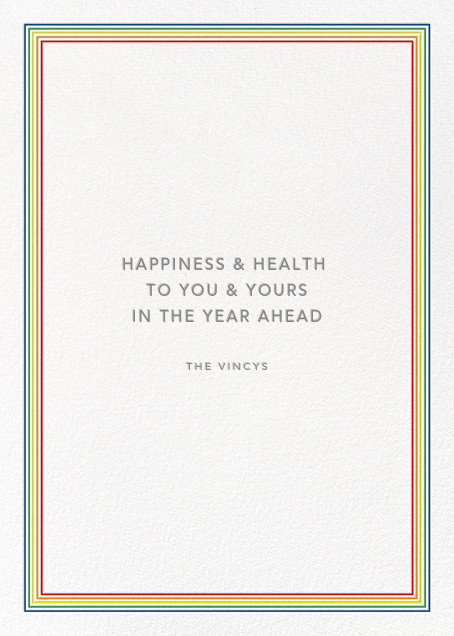 Lucky New Year - Paperless Post - New Year - card back