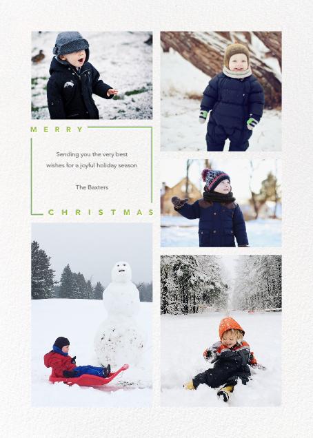 Minimalist Christmas (Tall) - Paperless Post - Christmas
