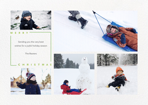 Minimalist Christmas (Horizontal) - Paperless Post - Christmas