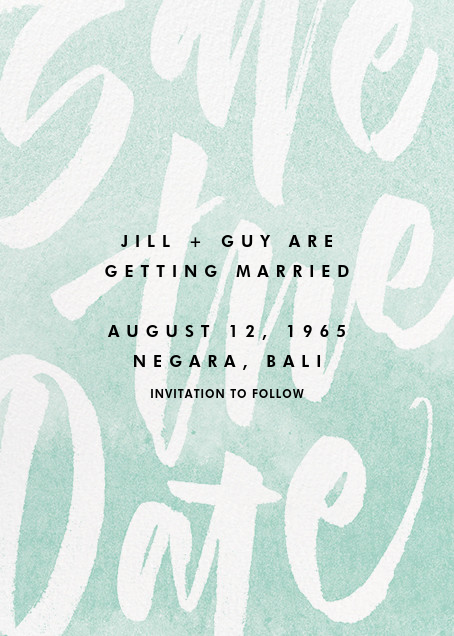 Stoneware - Paperless Post - Save the date