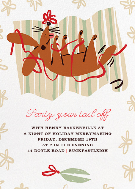 Wrap It Up with a Bow - Paperless Post - Christmas party