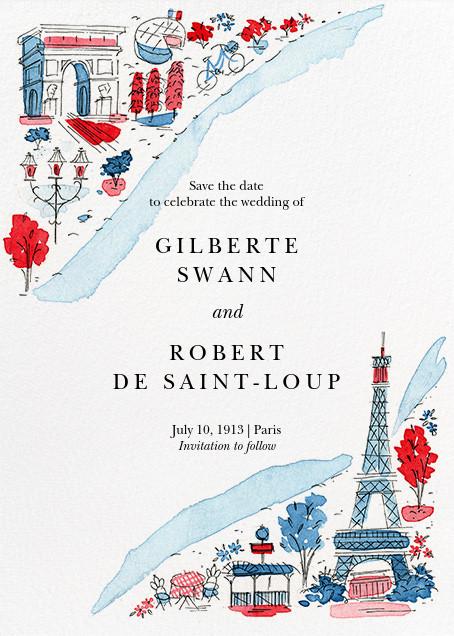 La Seine - Paperless Post - Designs we love