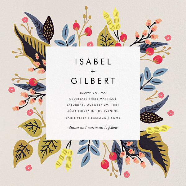 Egret Garden (Square) - Rifle Paper Co. - All