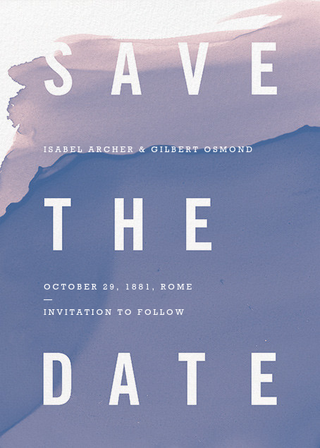 Nacre - Paperless Post - Save the date