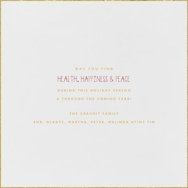 Bethlehem Sky - White - Paperless Post - Christmas - card back