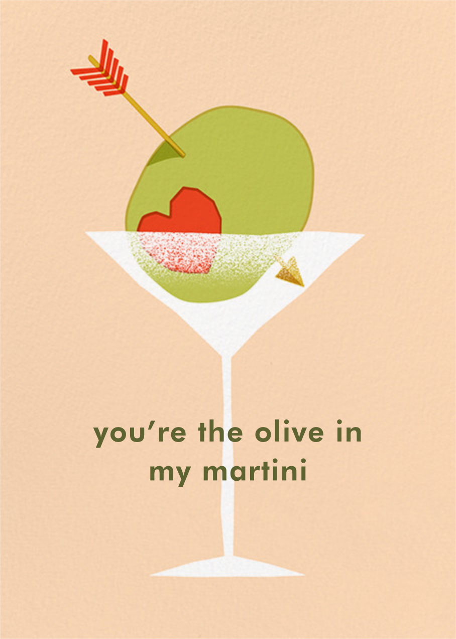Olive My Love - Paperless Post - Valentine's Day