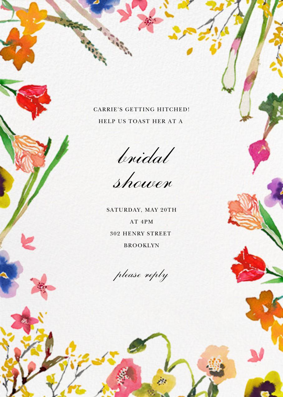 Spring Market - Happy Menocal - Bridal shower